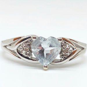 Women Aquamarine Rings Kay Jewelers On Poshmark